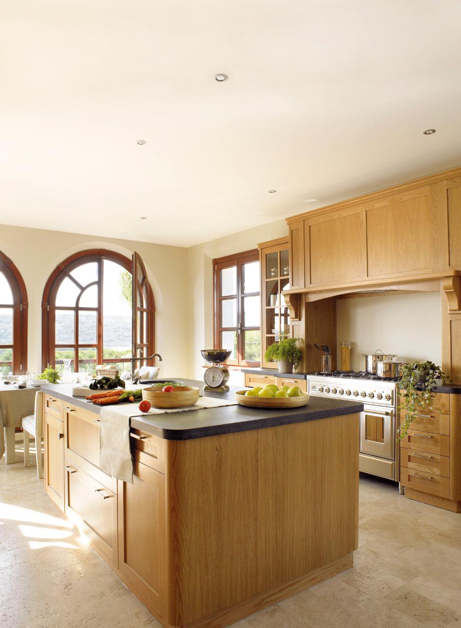 Las 9 cocinas de madera ms clidas