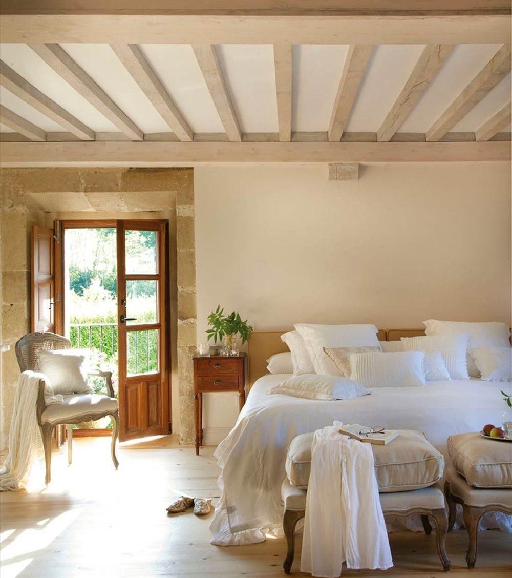 Dormitorios rsticos con mucho encanto