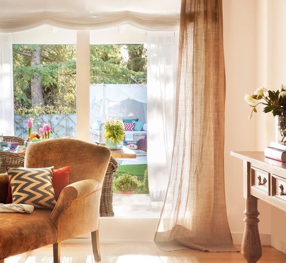 Elegir cortinas y acertar telas medidas y materiales