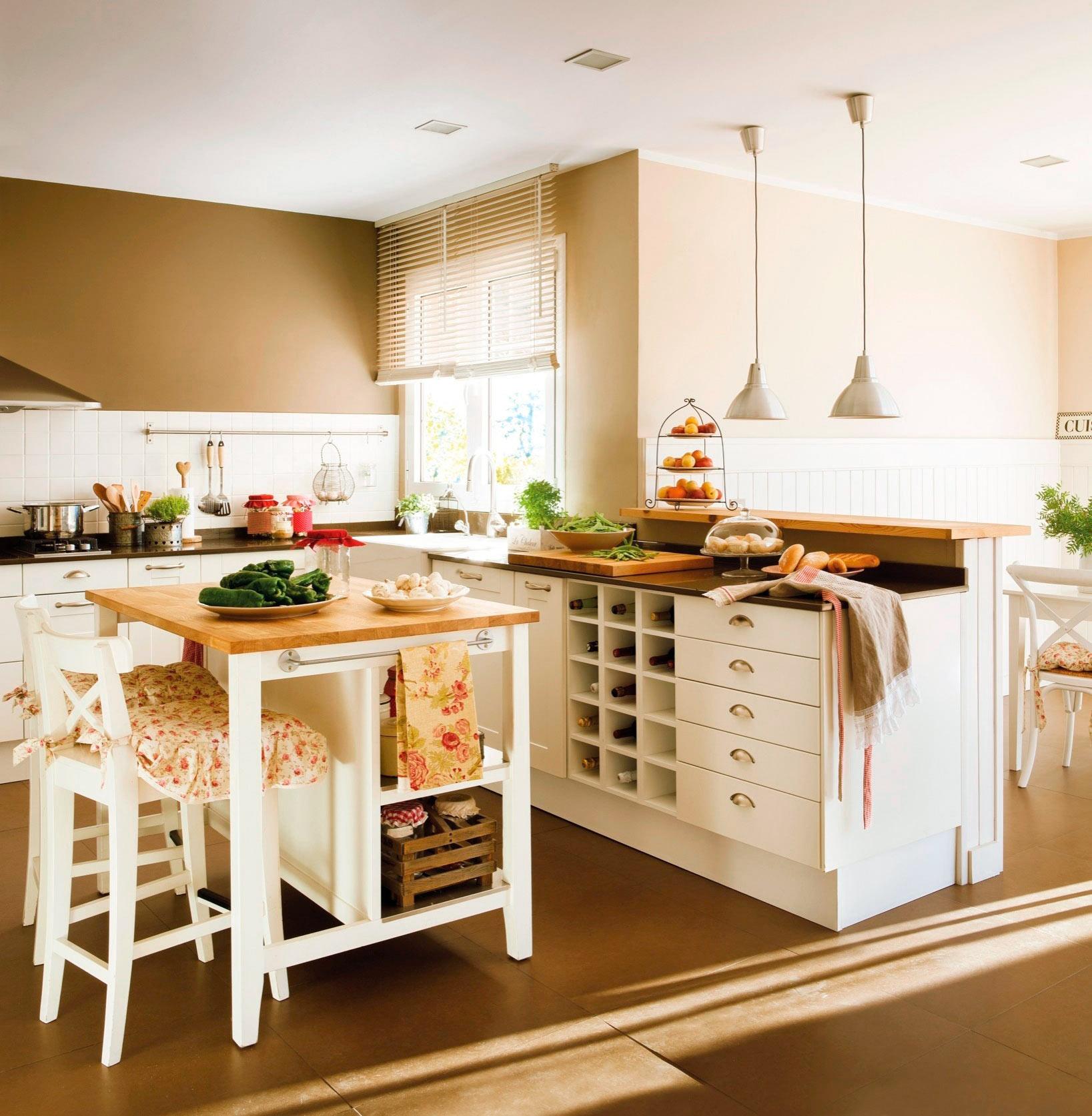 Cmo organizar la cocina y el bao para que resulten ms funcionales