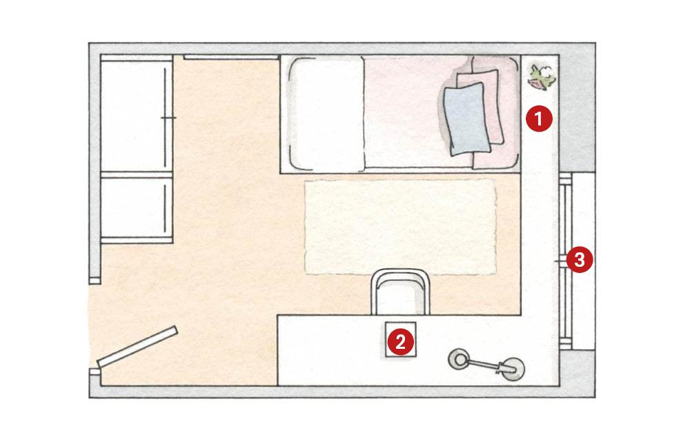 Dormitorio 4x4 Interior Dormitorio Chocolate With