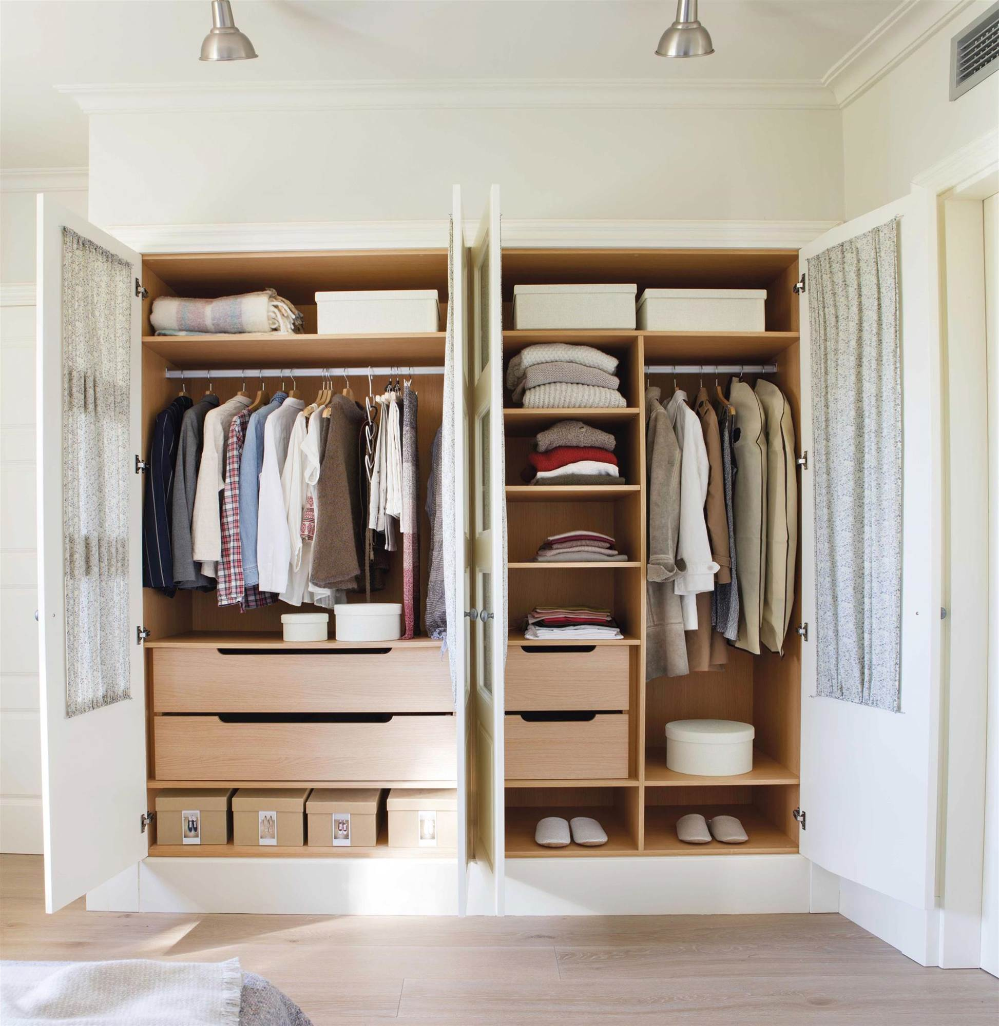 Cmo ordenar el armario y mantenerlo