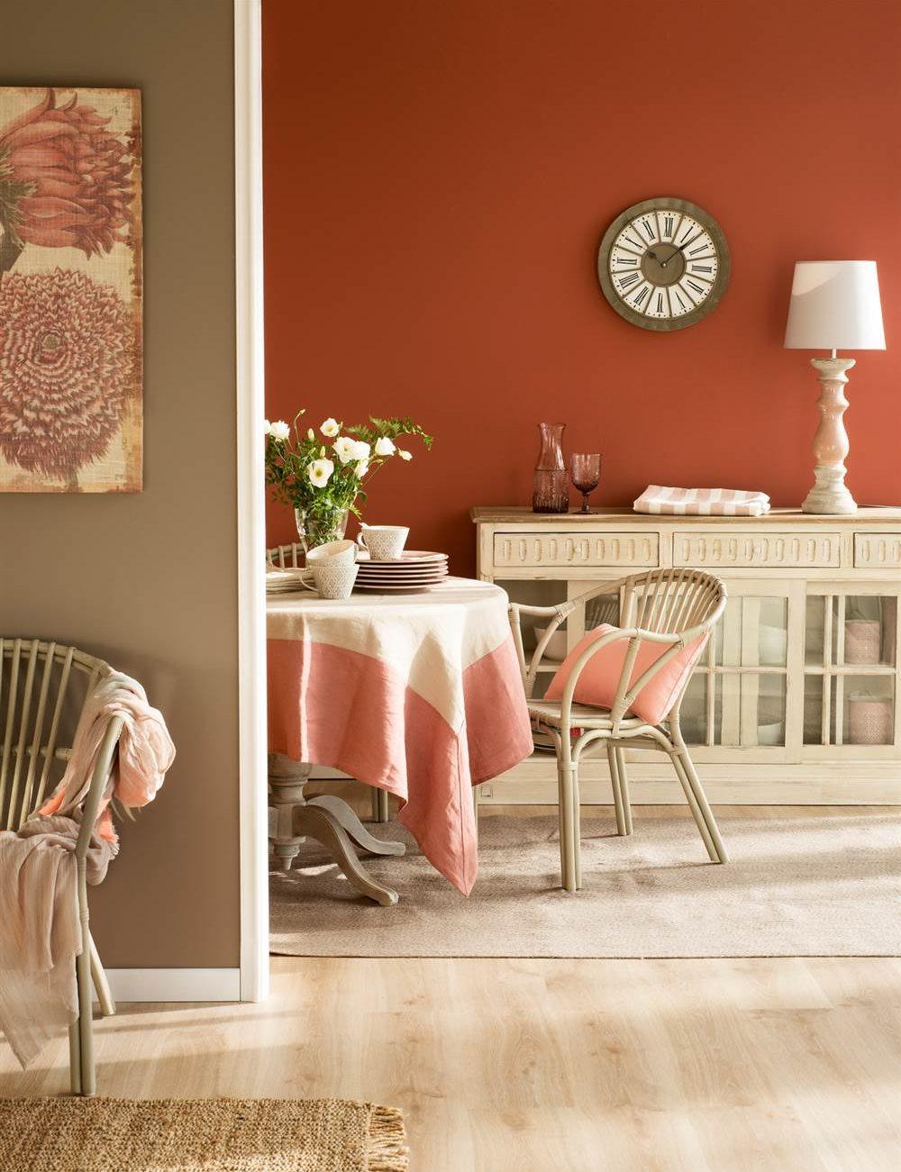 Las claves para combinar los colores en la decoracin y los muebles