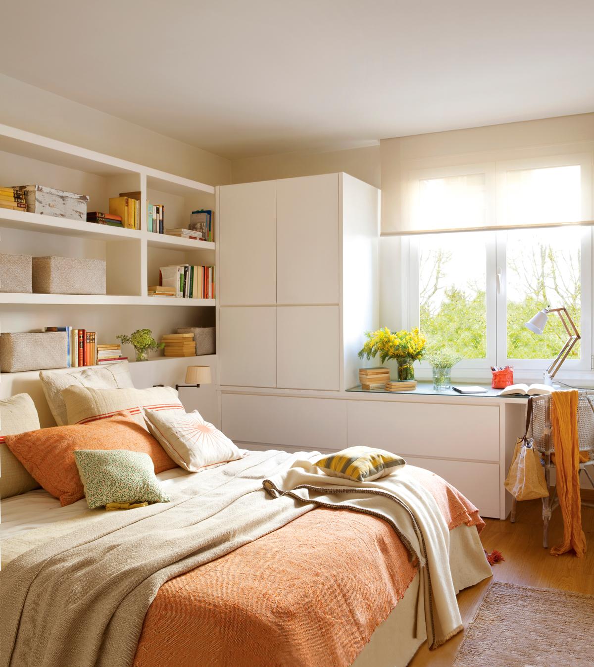 10 ideas geniales para dormitorios pequeos