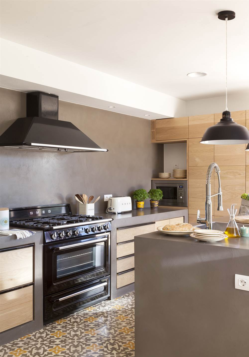 Tipos de encimera que le darn un aire nuevo a tu cocina