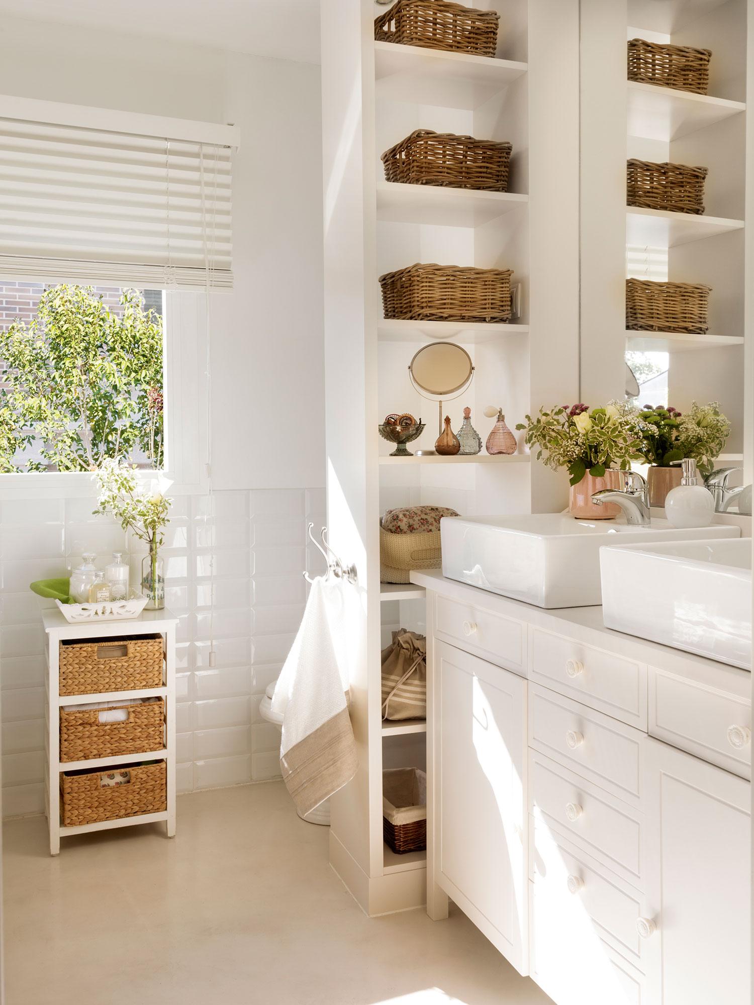 Baos en blanco ideas de decoracin