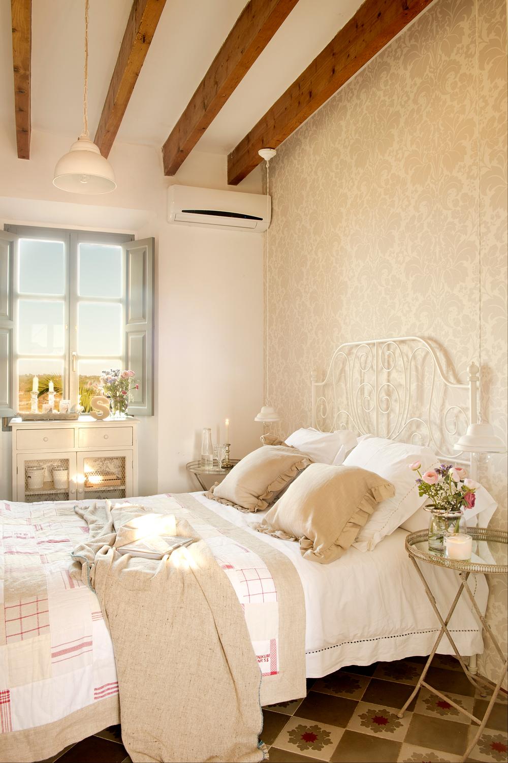Decora tu dormitorio con estilo vintage