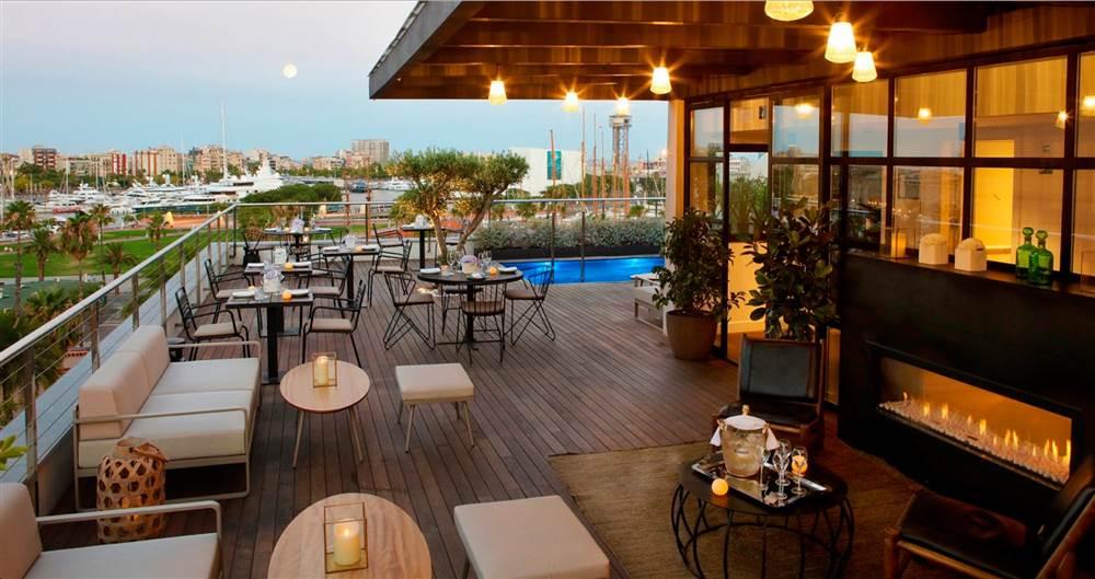 Terrazas de hotel en Barcelona para disfrutar del verano