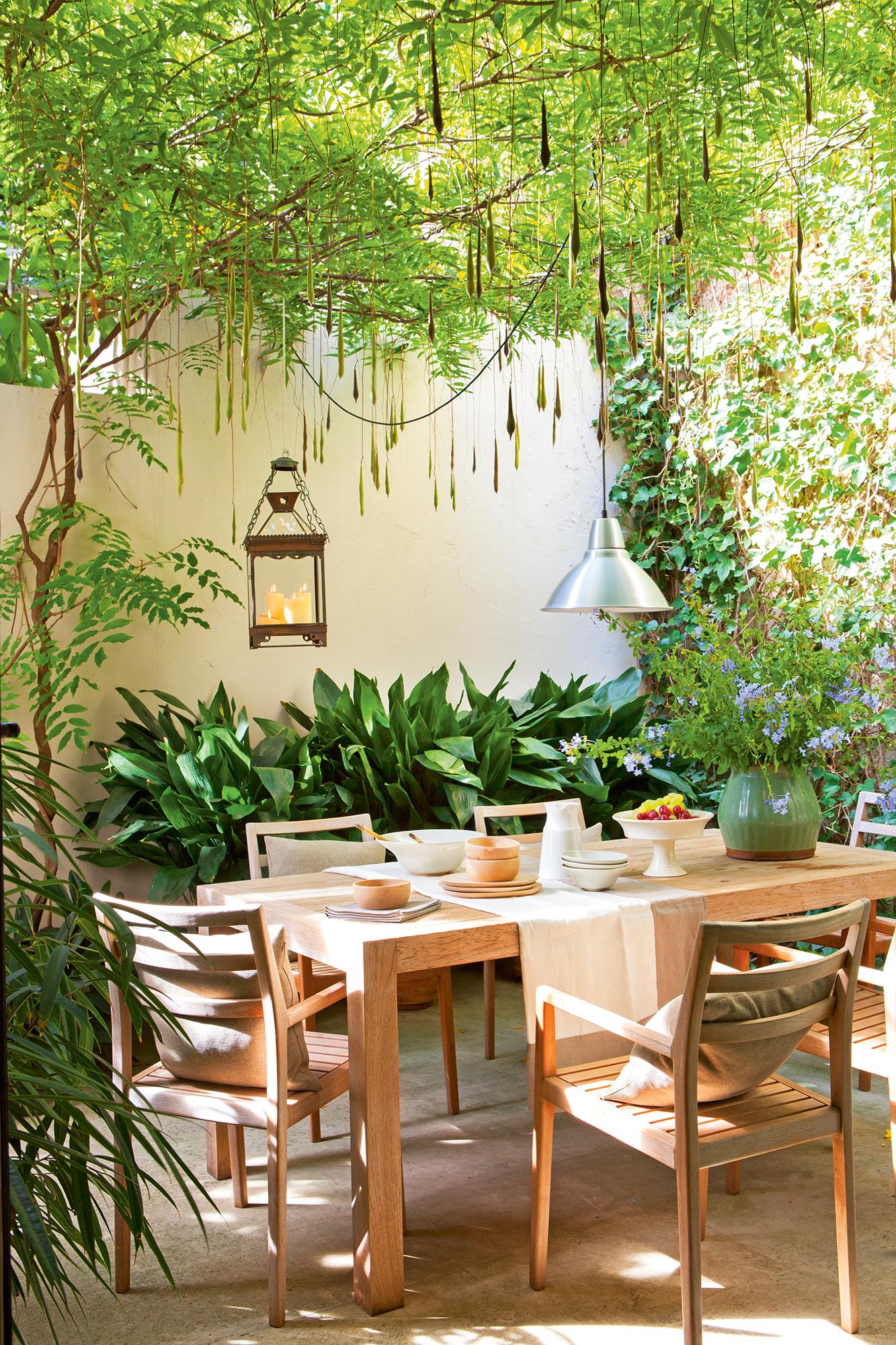 Comedores de exterior los 50 mejores de El Mueble