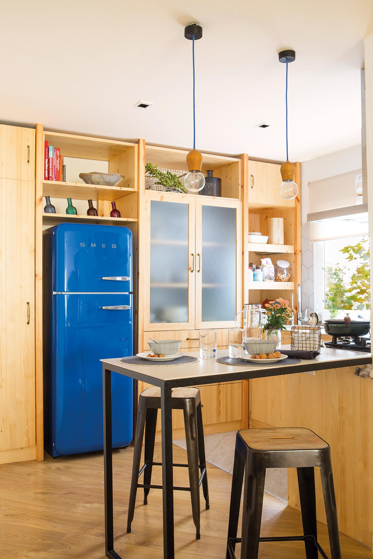 Ideas para aprovechar el espacio en las cocinas pequeas