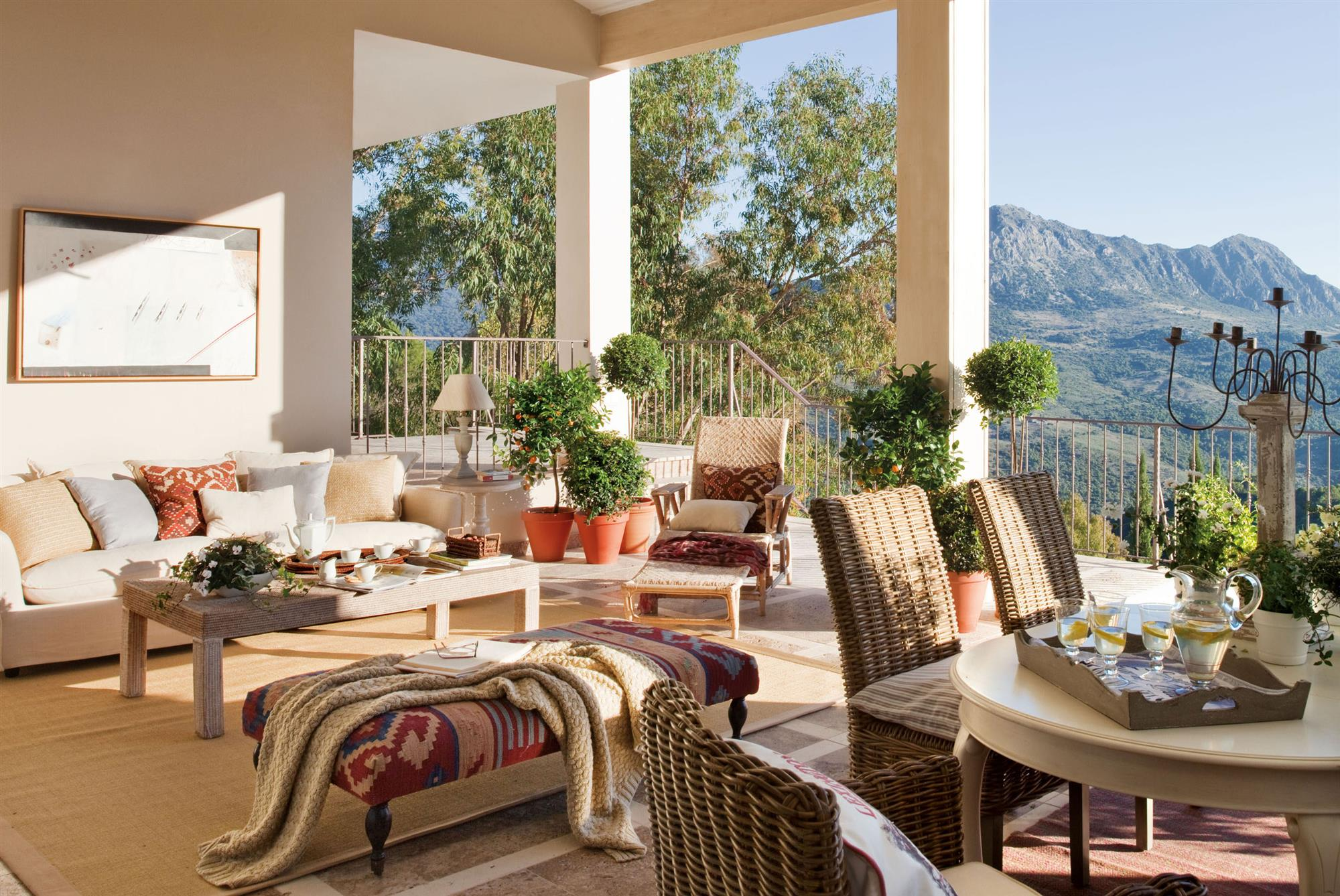 Terrazas Muebles mesas e ideas para tu terraza  El Mueble