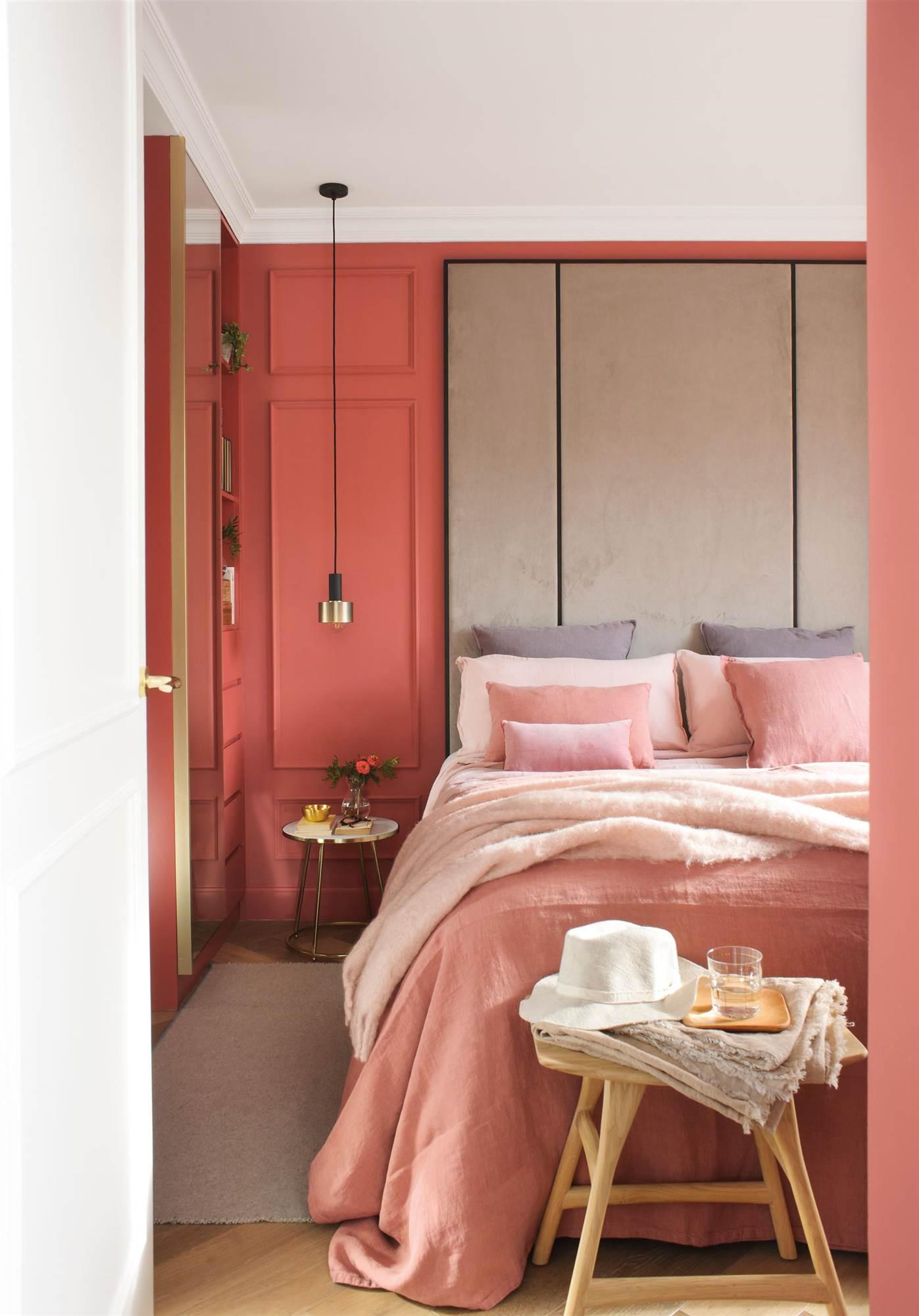 Los colores perfectos para pintar las paredes del dormitorio