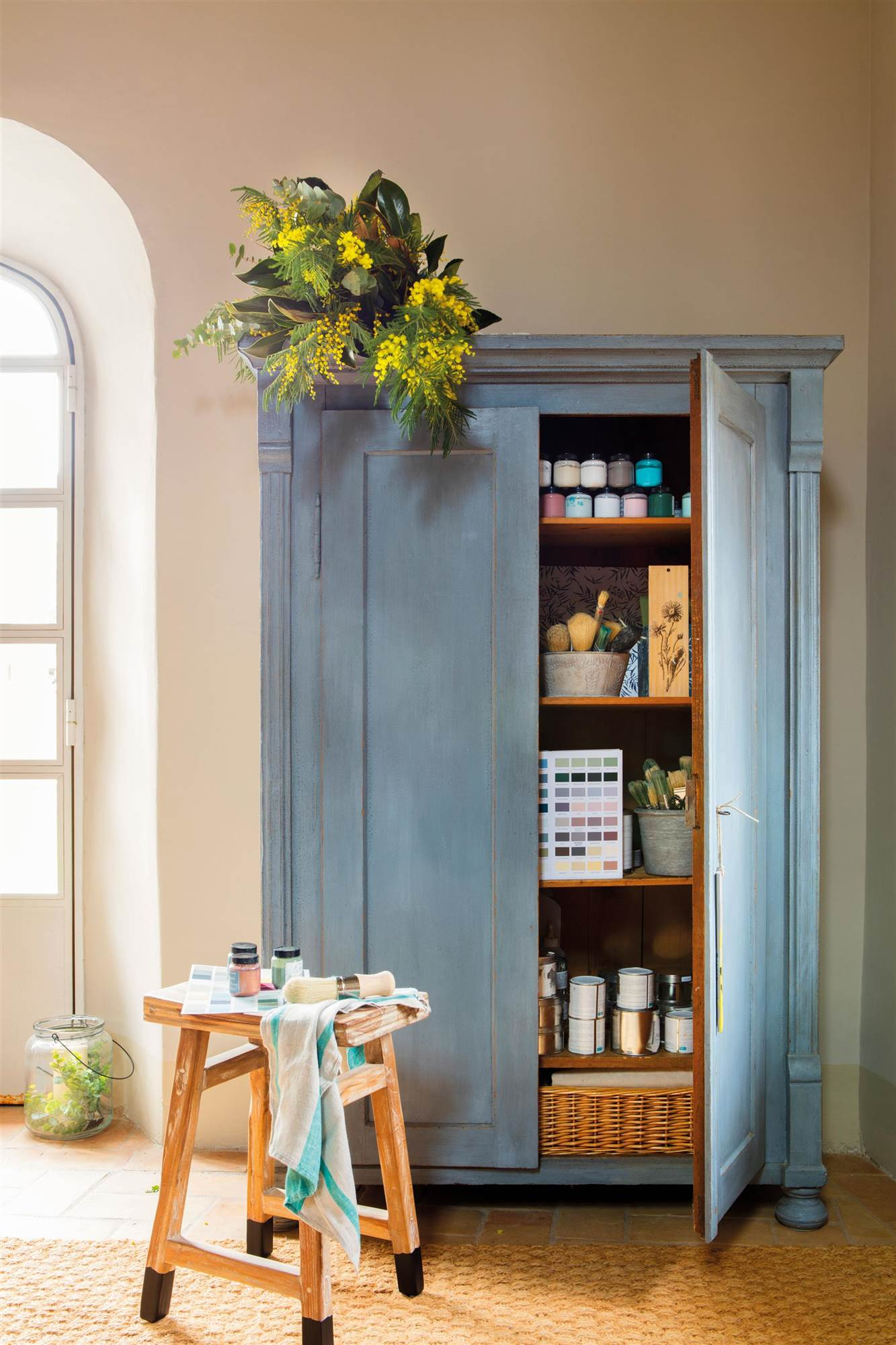 Cmo pintar muebles antiguos modernos de madera