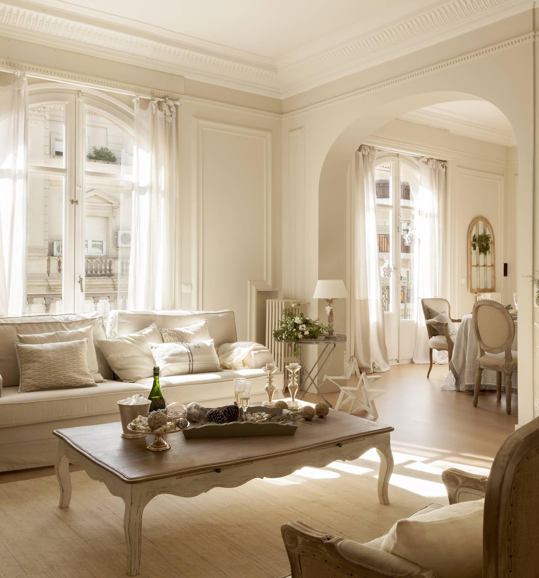 El color beige en la decoracin clido luminoso y verstil