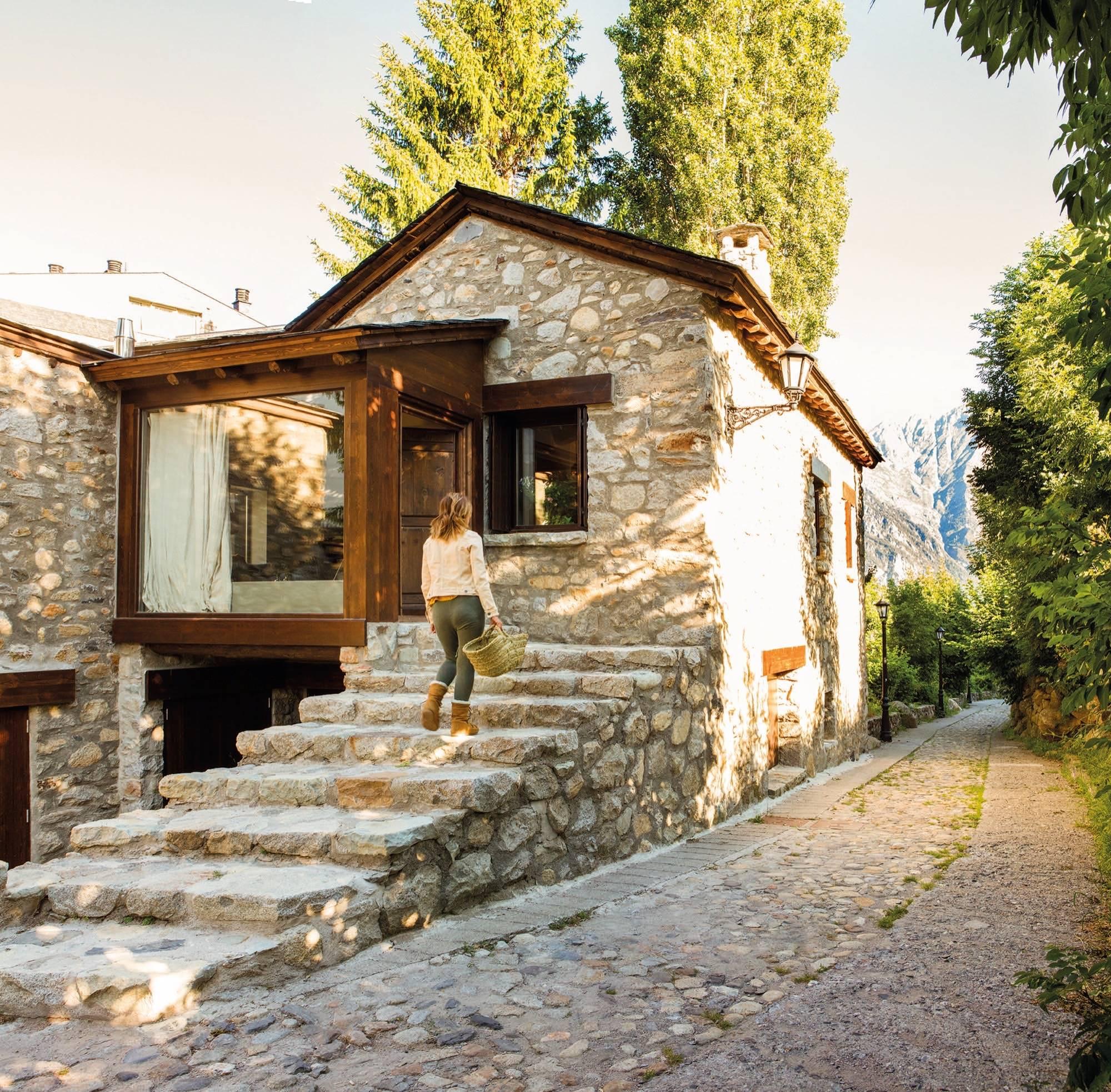 Una casa rstica hecha en Pinterest