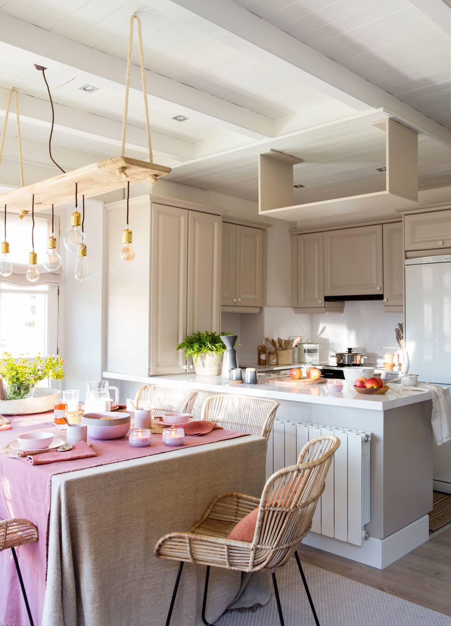 50 cocinas abiertas e integradas en el saln o comedor