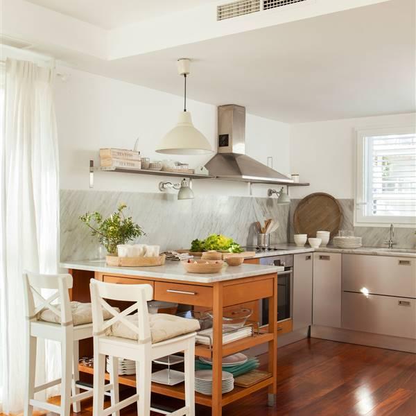 Elige el suelo ms resistente para tu cocina