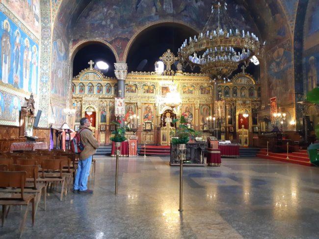 Interior de la Catedral de Sveta Nedelya - El Mundo con Ella