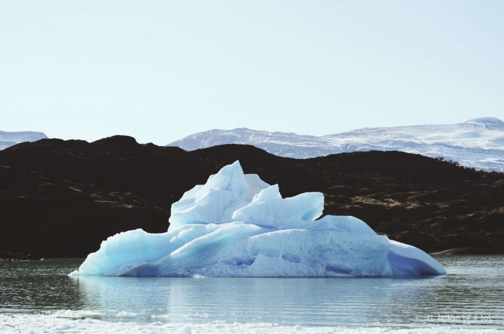 Iceberg. Viajar a El Calafate