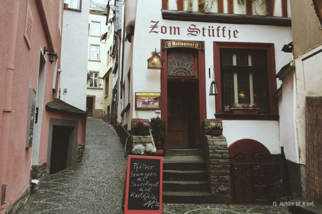 Restaurant Zom Stüffje. Cochem
