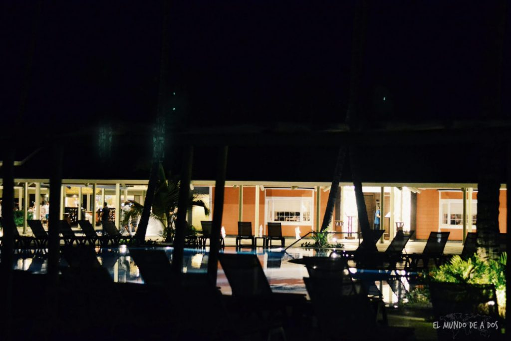 De noche. Punta Cana en octubre