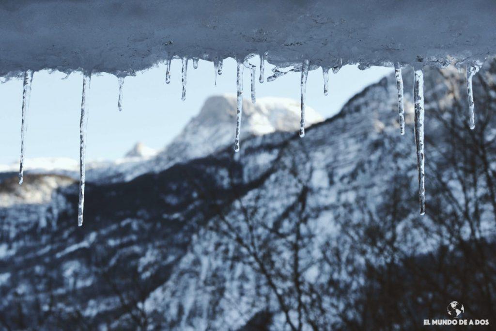 Estalactitas de Hallstatt. Hallstatt en invierno