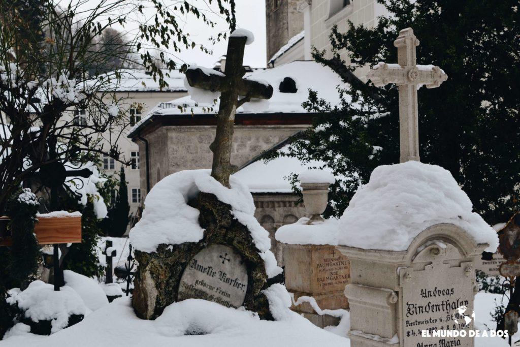 Cementerio de San Pedro. Salzburgo en un dia