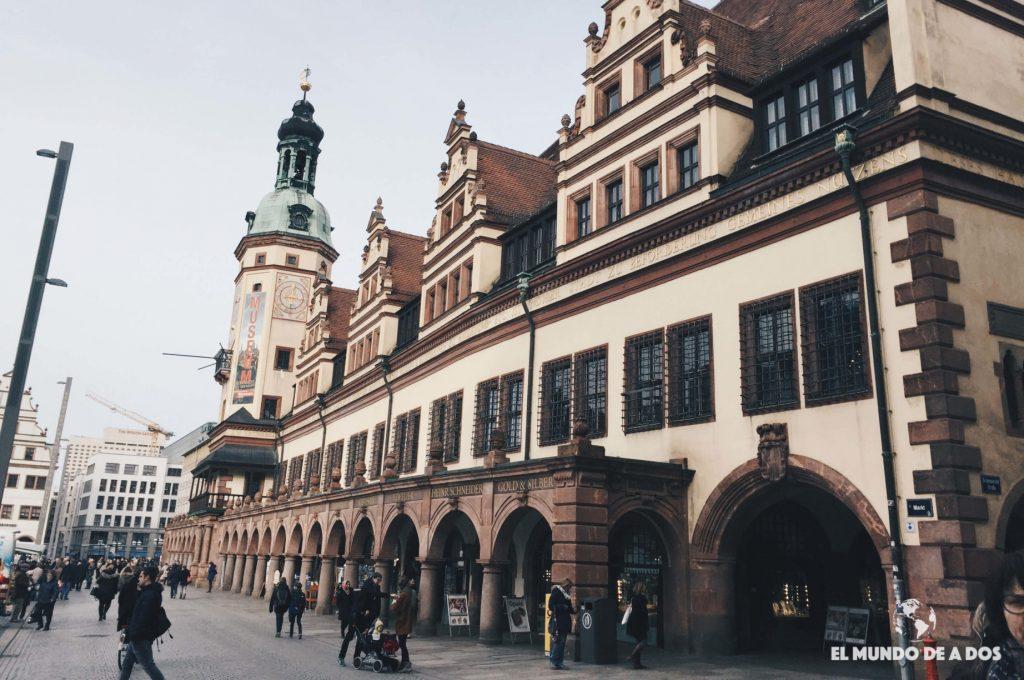 Altes Rathaus Leipzig. Que ver en Leipzig