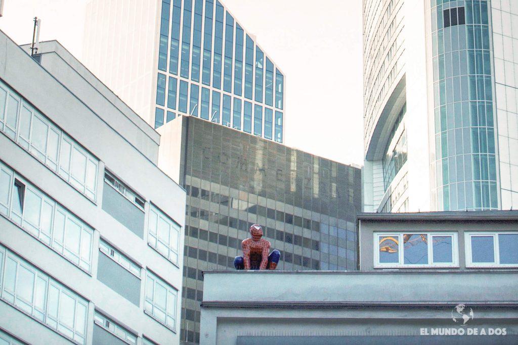 Spiderman en Frankfurt. Curiosidades de Frankfurt