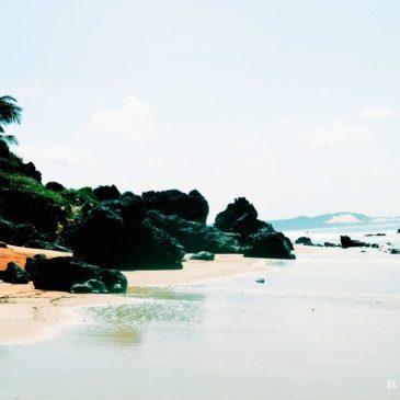 De visita por las playas de Pipa, Brasil