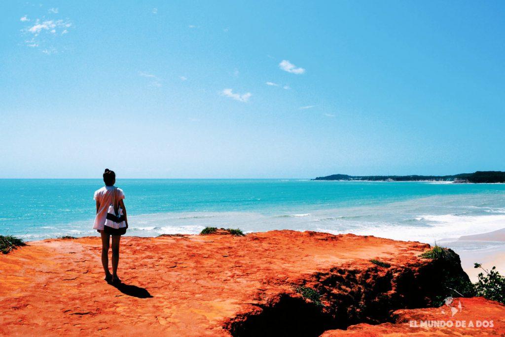 Mirador Playa Cacinbinhas. Playas de Pipa
