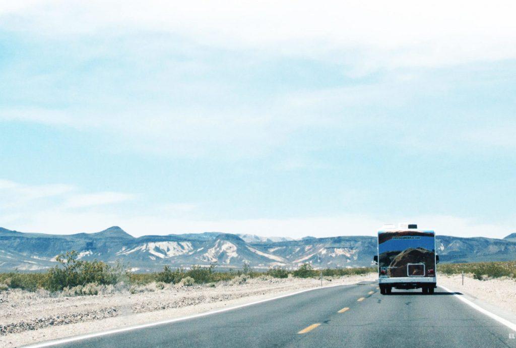 Viaje por la costa oeste de Estados Unidos en auto