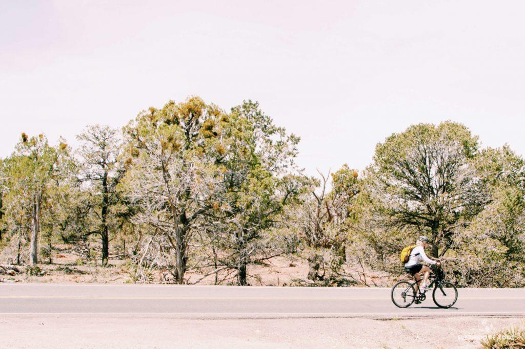 En bici por el Gran Cañón. Gran Cañón en un día