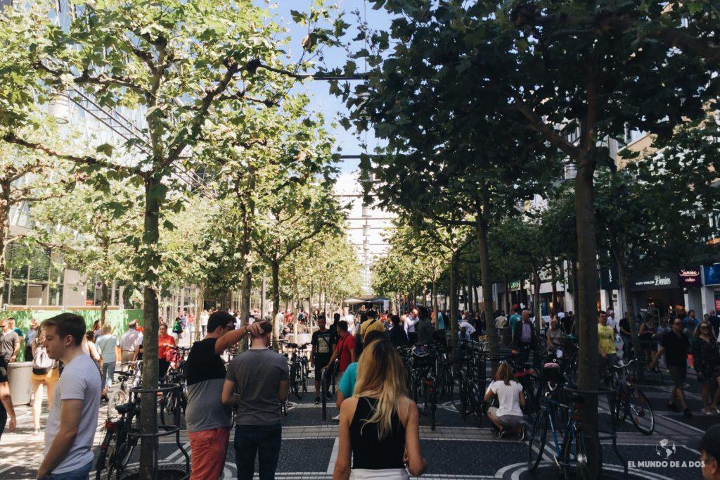 Calle Zeil. Que ver en Frankfurt