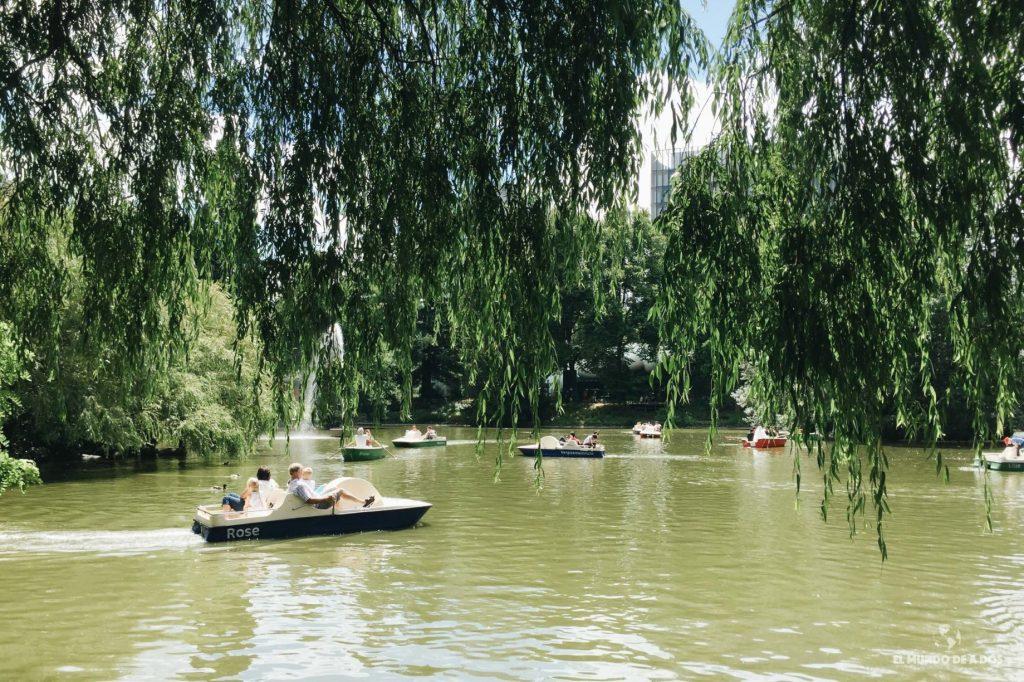 Lago del Palmengarten. Que ver en Frankfurt