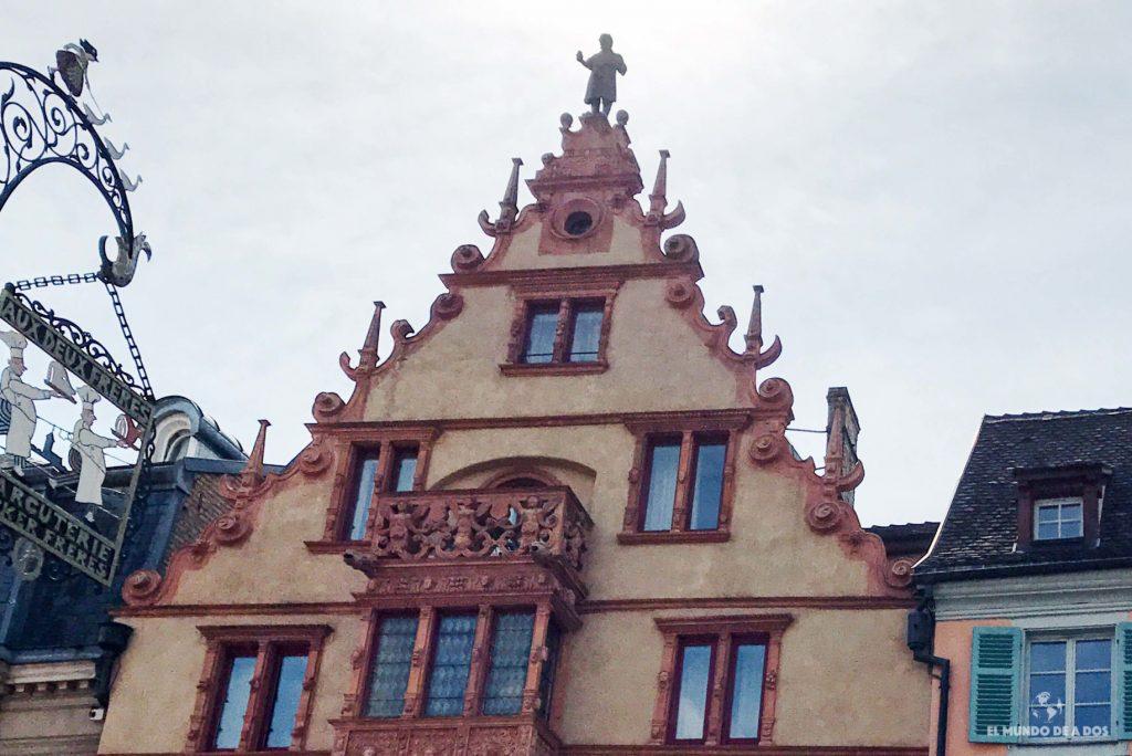 Casa de las cabezas. Que ver en Colmar Francia