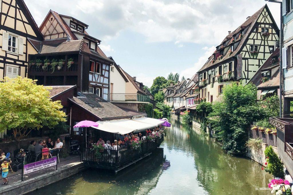 Canales. Que ver en Colmar Francia