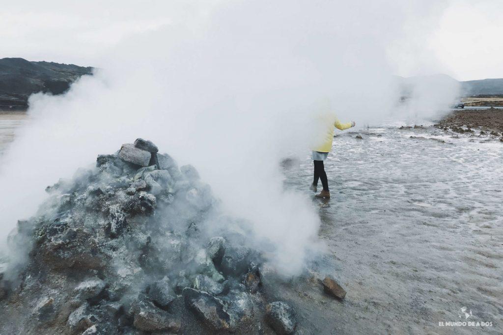 Fumarolas. Ruta por Islandia en 10 días