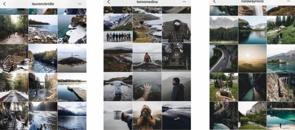 Cuentas inspiracion. Como editar fotos en el celular