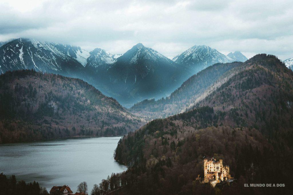 Hohenschwangau y los lagos. Neuschwanstein, castillo del rey loco