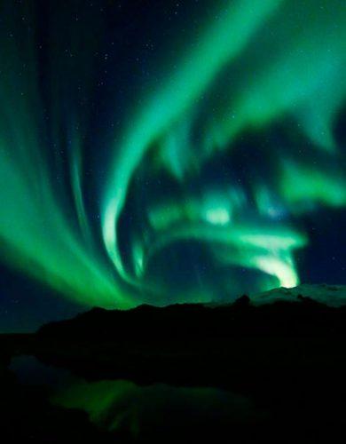 Las luces del norte por @m.j.fotografia. Fotografiar la Aurora Boreal en Islandia
