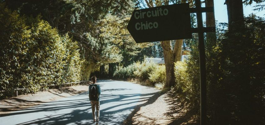 Camino al Circuito Chico en Bariloche