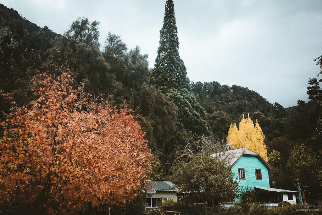 Casas de época en Colonia Suiza, Circuito Chico.