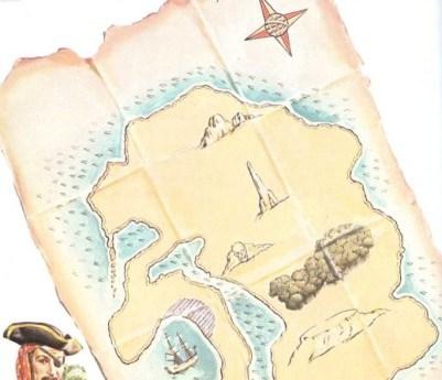 Un mapa de piratas