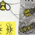Insectos de pasta y papel de seda
