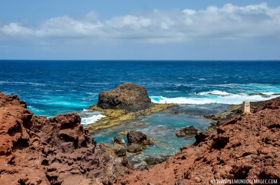 Piscinas naturales del norte de Gran Canaria - charco de los cangrejos