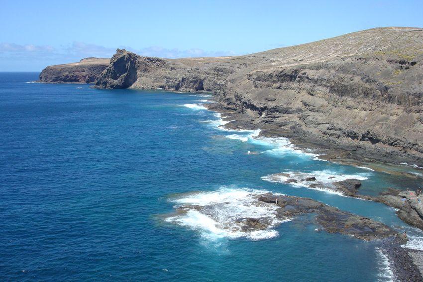 Piscinas naturales de Gran Canaria - Caleta de Turman