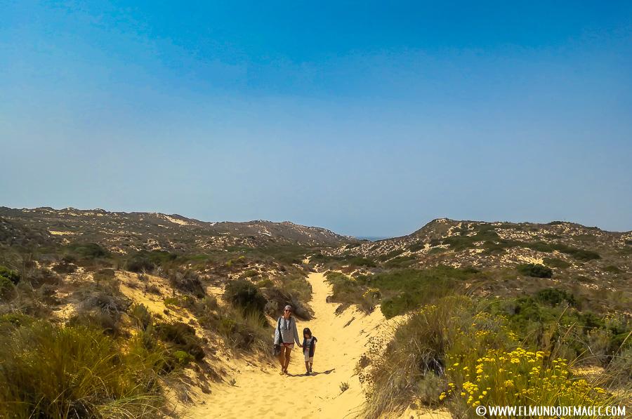 Playas del Alentejo - Sendero a Carrapateira
