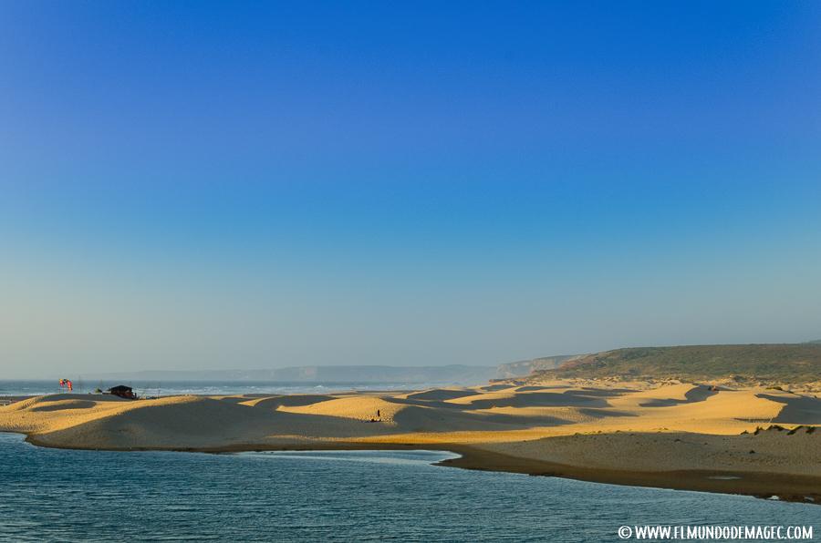 Playas del Alentejo - Dunas de la playa de Bordeira