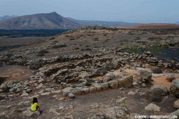 Que ver en Lanzarote - Casas Hondas del Poblado de Zonzamas